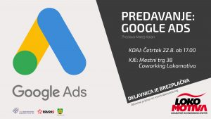 PREDAVANJE: Google Ads