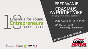 Predavanje – Evropski program izmenjave podjetnikov